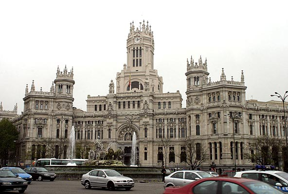 Foto semana de la arquitectura en madrid palacio de las for La arquitectura en espana