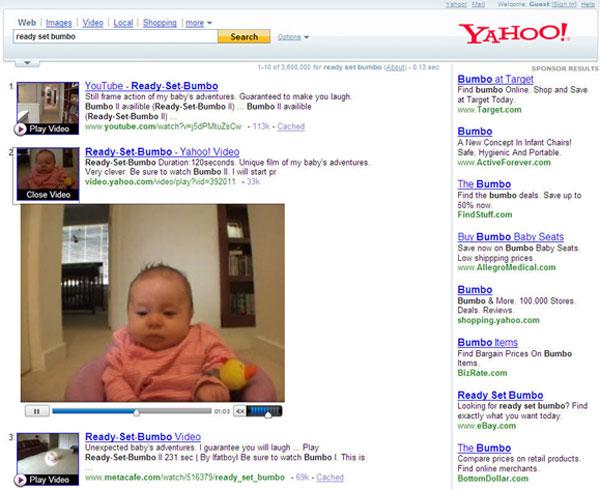 Yahoo renueva su buscador