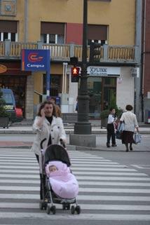 Semáforos, a la caza de peatones