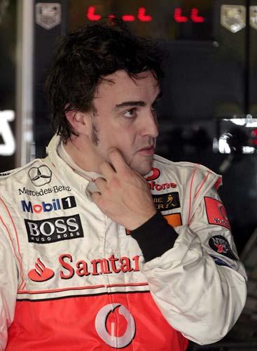 Alonso en China