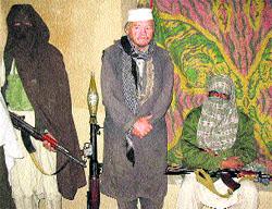 Secuestrado por los talibanes