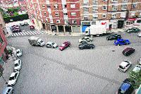 Nueva rotonda en Oviedo