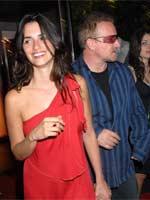 Con Bono, en una fiesta. (<a xhref=