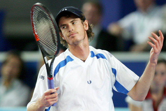 Andy Murray, desplegable