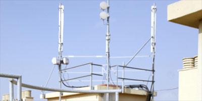 Antenas de telefonía móvil.