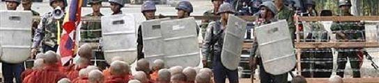 La rebelión de los monjes en Birmania