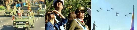 Desfile del Día de la Hispanidad. (TVE)
