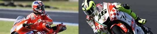 Rossi y Stoner