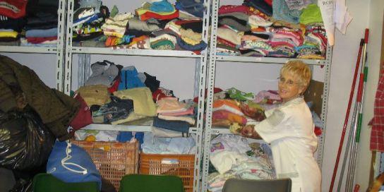 Albergue zaragoza recogida ropa