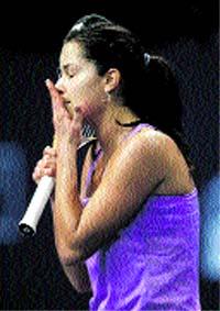 Ivanovic pierde en Zurich y Dementieva se retira lesionada