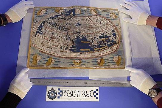 Los mapamundis de la Biblioteca Nacional