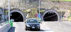 El túnel de Eirís sólo acoge el 15% del tráfico previsto