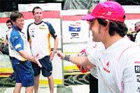 Alonso y Hamilton se piropean