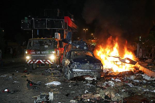 atentado Karachi