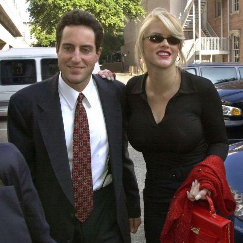 Anna Nicole Smith y Howard Stern