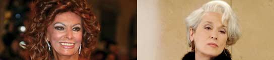Sofía Loren & Meryl Streep