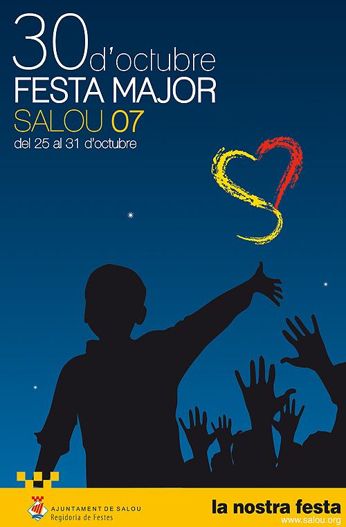 Cartel de la Fiesta Mayor del 30 de Octubre de Salou