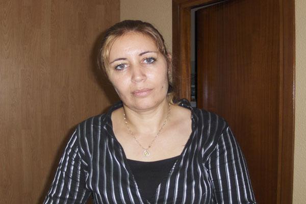Naima Ejbari, directora de un periódico en árabe clásico y español