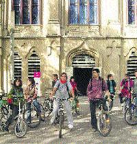 Estudiantes pro carril-bici