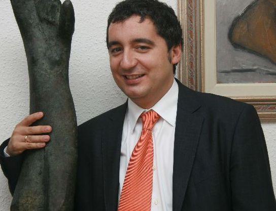 Pedro Alberto Cruz, consejero de Cultura de la Región de Murcia