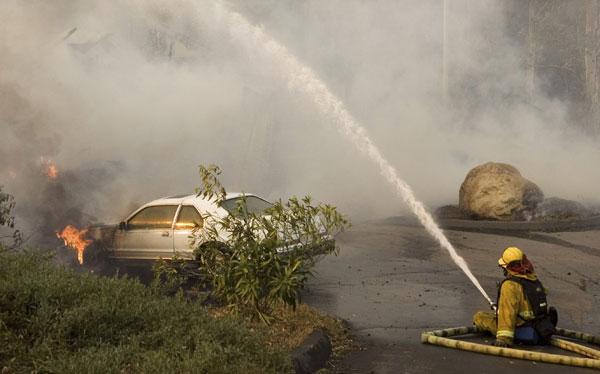 El incendio de California, 'Twitterizado'
