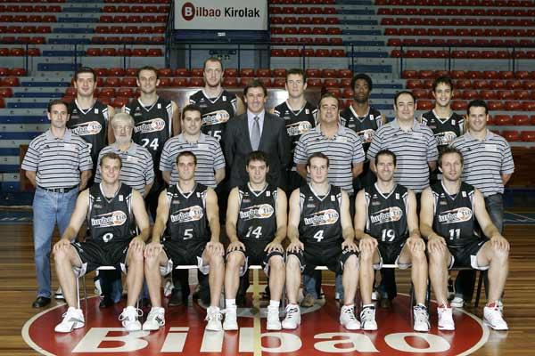 Plantilla Iurbentia Bilbao Basket