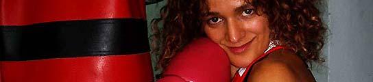 Marifé Conde kickboxing