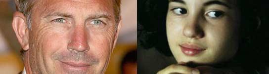 Kevin Costner e Ivana Baquero