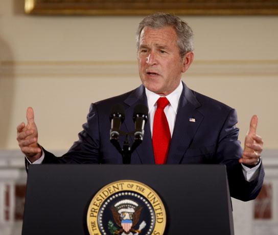 Bush habla sobre Cuba