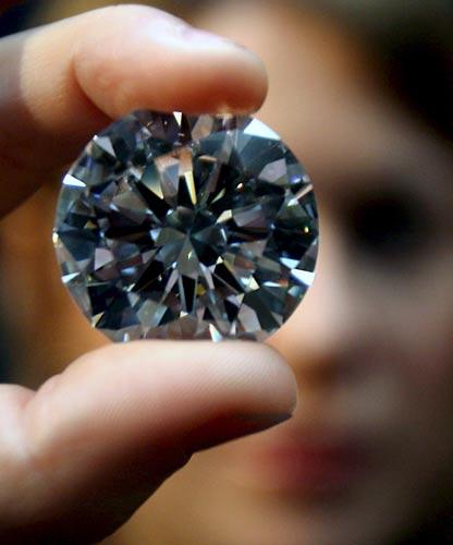 Diamante blanco puro