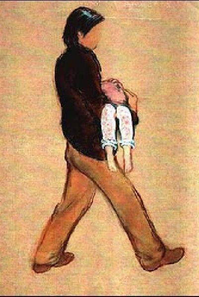 Dibujo secuestrador Madeleine