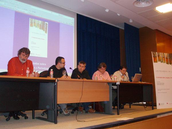 Blogueros de Burgos en las III Jornadas de Lenguaje y Periodismo