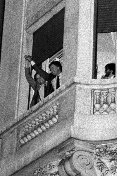 Aniversario de la primera victoria  del PSOE