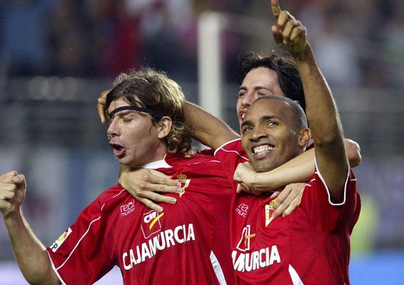 Pablo García, Álvaro Mejía e Ignacio Regueiro