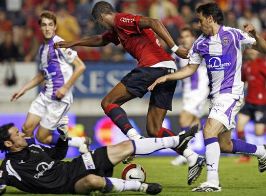 Osasuna-Real Valladolid