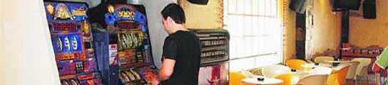 Máquinas tragaperras en locales de hostelería