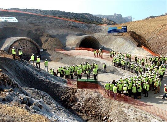 Túnel este de Abdalajís
