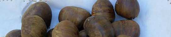Las castañas es uno de los ingredientes de este postre