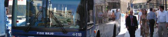 Autobús de Valladolid.