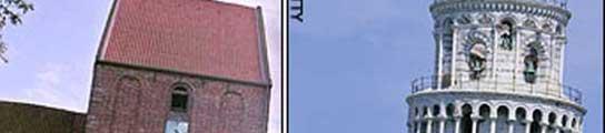 La torre de Pisa pierde el trono