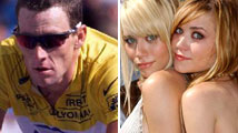 Armstrong y las gemelas Olsen