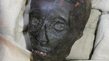 Tutankamón cara.