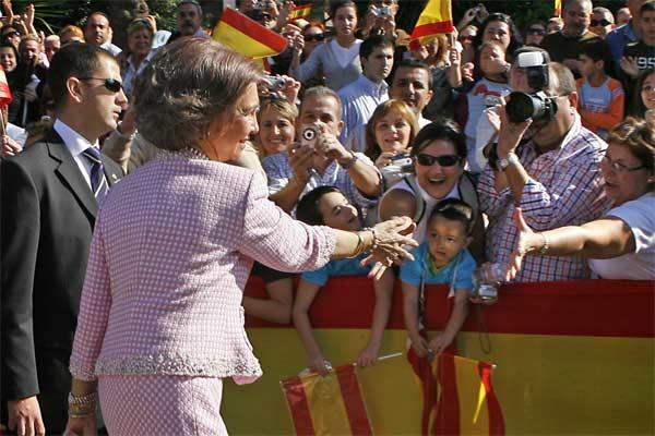 Visita de los Reyes a Ceuta