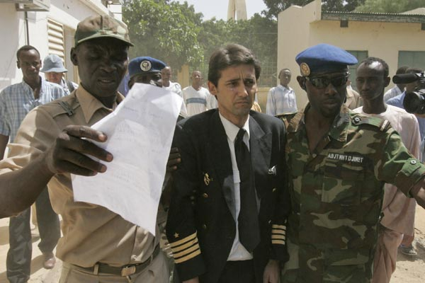 Pilotos españoles en el Chad