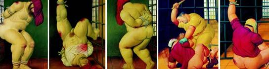"""Botero expone en Estados Unidos su """"rabia"""" por las torturas de Abu Ghraib"""