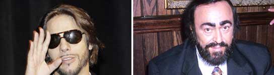 Joaquín Cortés y Pavarotti