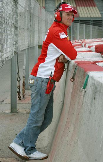 Michael Schumacher, desplegable