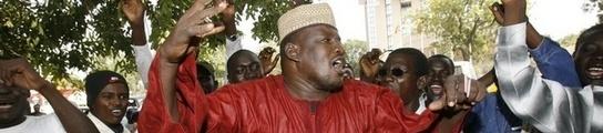 Manifestación en Chad