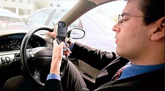 Distracciones dentro del coche