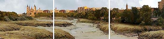 Así quedará el Ebro debido al cambio climático